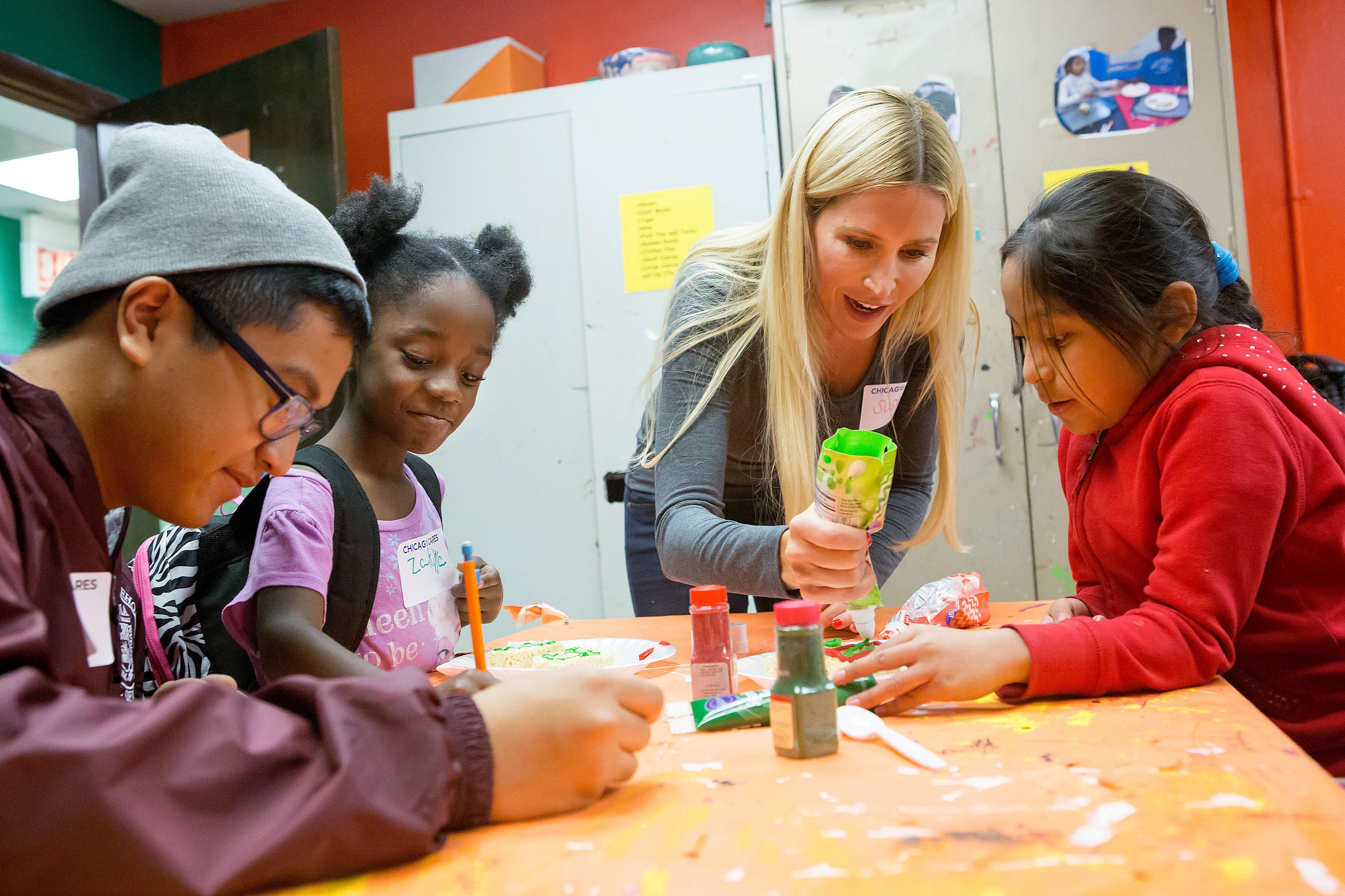 We Believe in the power of Volunteering to transform Chicago.
